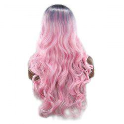 Long Curly Hair Big Wave Roll Wig -