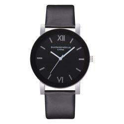 Lvpai P678 Black Mirror Business Ladies Quartz Watch -