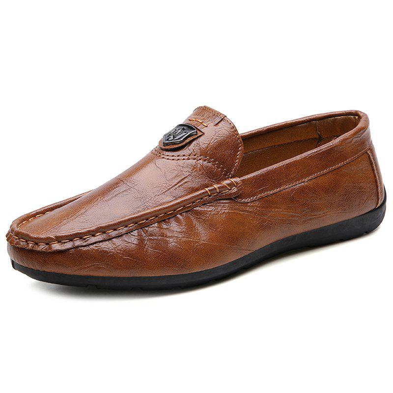 Buy 730 Four Seasons Primary Color Leather Doug Shoes for Men