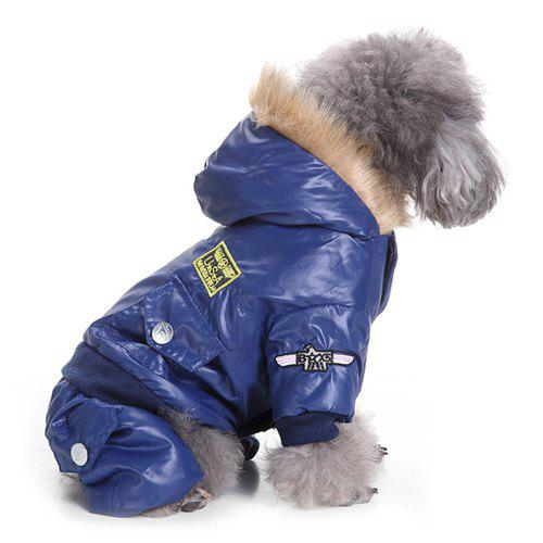 Sale Air Force Suits Four-legged Winter Pet Dog Clothes