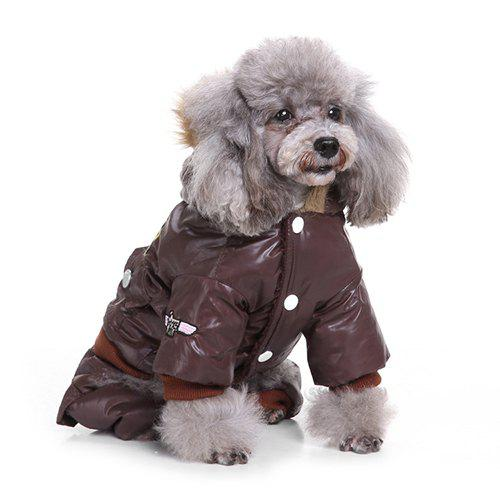 New Air Force Suits Four-legged Winter Pet Dog Clothes