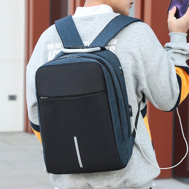 Hot Men's Backpack Student Package Female College Business Travel Computer Bag