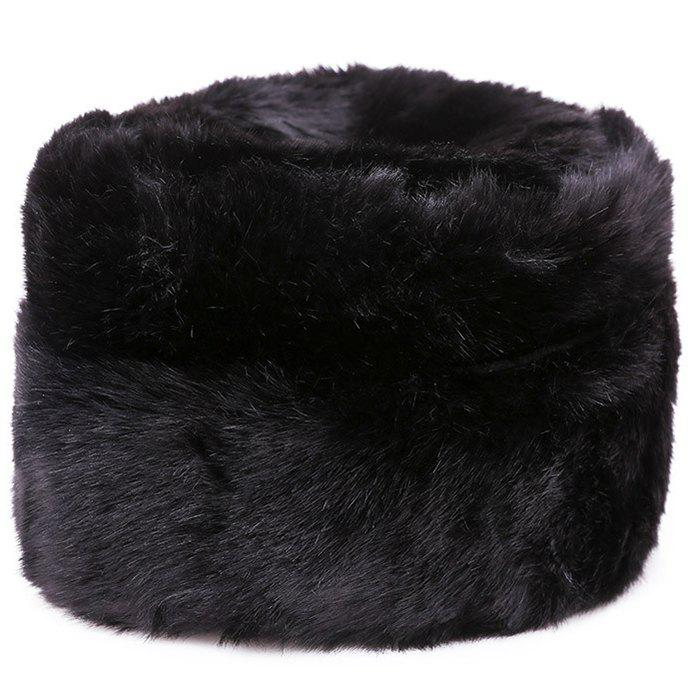 Trendy Winter Middle-aged Thick Warm Men Bomber Hat