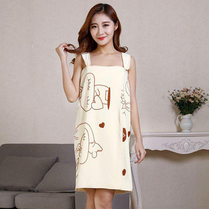 Outfit Microfiber Thickening Soft Strong Water Absorbent Bath Towel