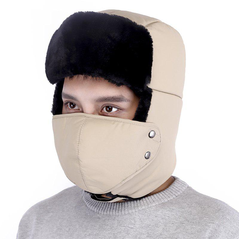 Cheap Winter Wild Outdoor Thick Warm Ear Protection Windproof Face Hat