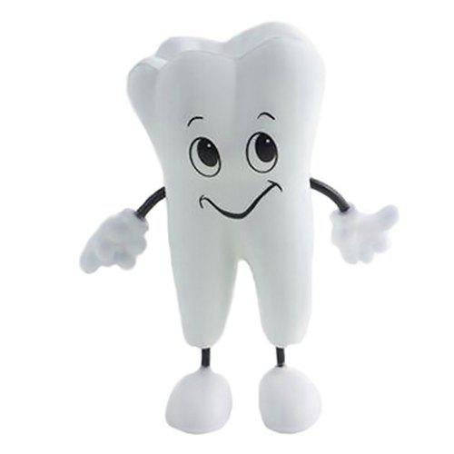 Hot PU Tooth Doll Cute Smile Squishy Toy
