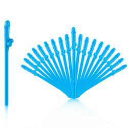 8 - P5656 - P27.1.05 Paille de fête utile simple 20pcs -
