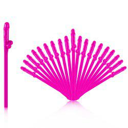 8 - P5656 - P27.1.05 Simple Useful Party Straw 20pcs -