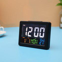 Color Large Screen LCD Electronic Clock -