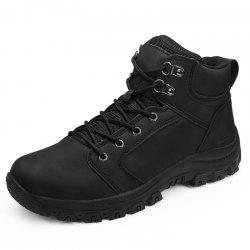 High-top Outdoor Leather Shoes Sneakers for Men -