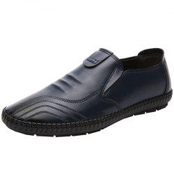 T9961 Autumn Season Business Casual Men's Leather Shoes -