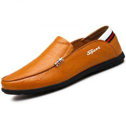 Light Business Casual Leather Shoes -