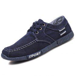 333 Denim Canvas Men's Low Korean Version Casual Shoes -