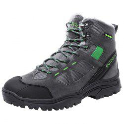 Men Wearable Plus Down High-top Outdoor Hiking Boots -