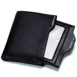 Anti-magnetic Anti-radio Short Wallet -