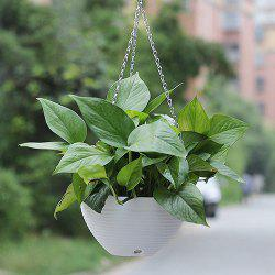 Balcony Potted Resin Hanging Orchid Flower Pot -