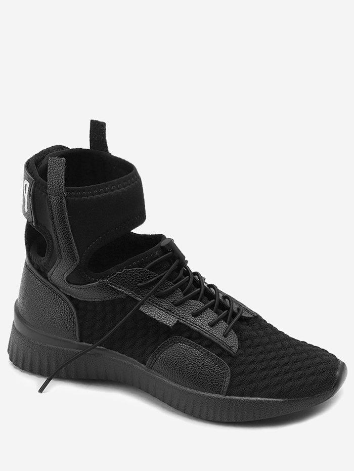 Discount Cutout High Top Breathable Running Sneakers