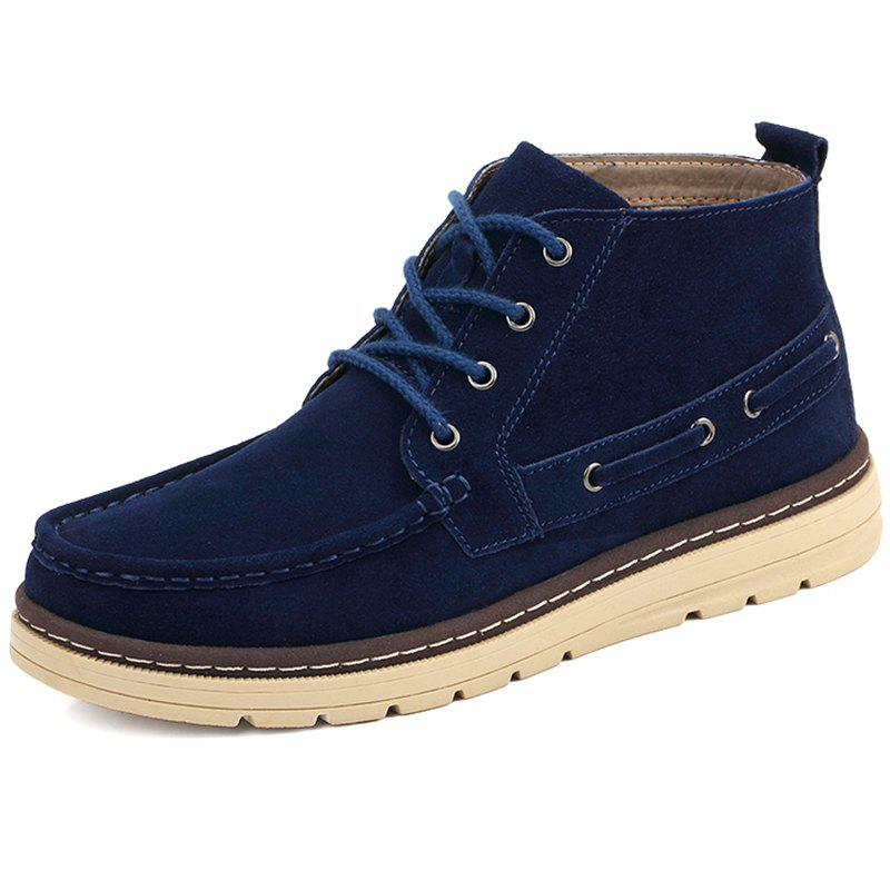 Latest High-top Outdoor Suede Upper Boots for Men