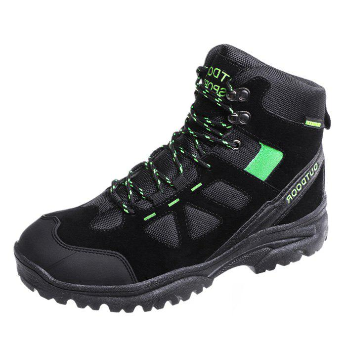 Buy Men Wearable High-top Outdoor Hiking Boots
