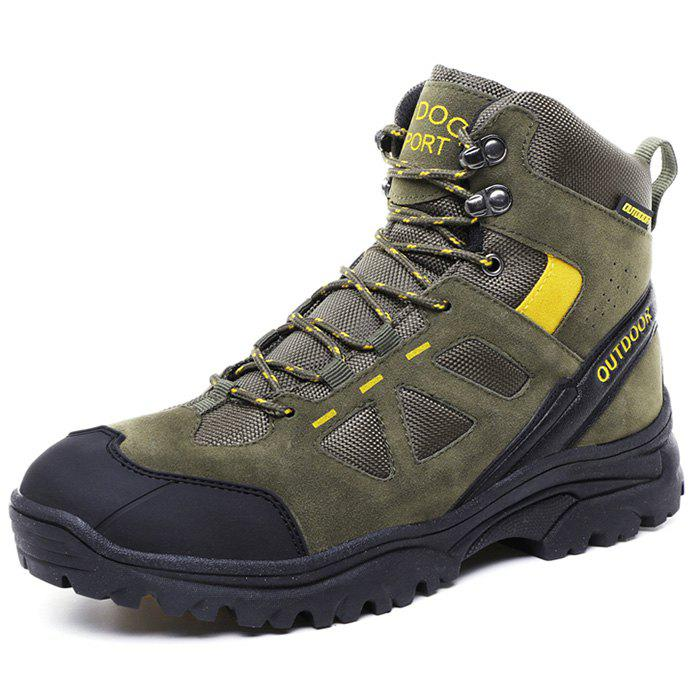 Chic Men Wearable High-top Outdoor Hiking Boots
