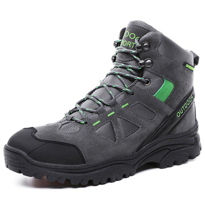 Outfit Men Wearable High-top Outdoor Hiking Boots