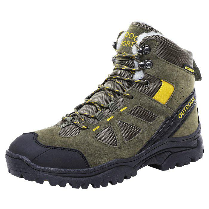 Affordable Men Wearable Plus Down High-top Outdoor Hiking Boots