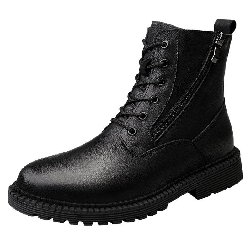 Outfits A8896 High-top Casual Side Zipper Men Boots