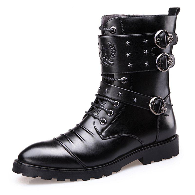 Affordable 6668 Trend High Men Boots