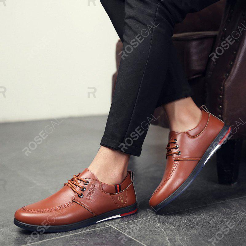 Outfits T2011 Men's Single Fashion Leather Shoes