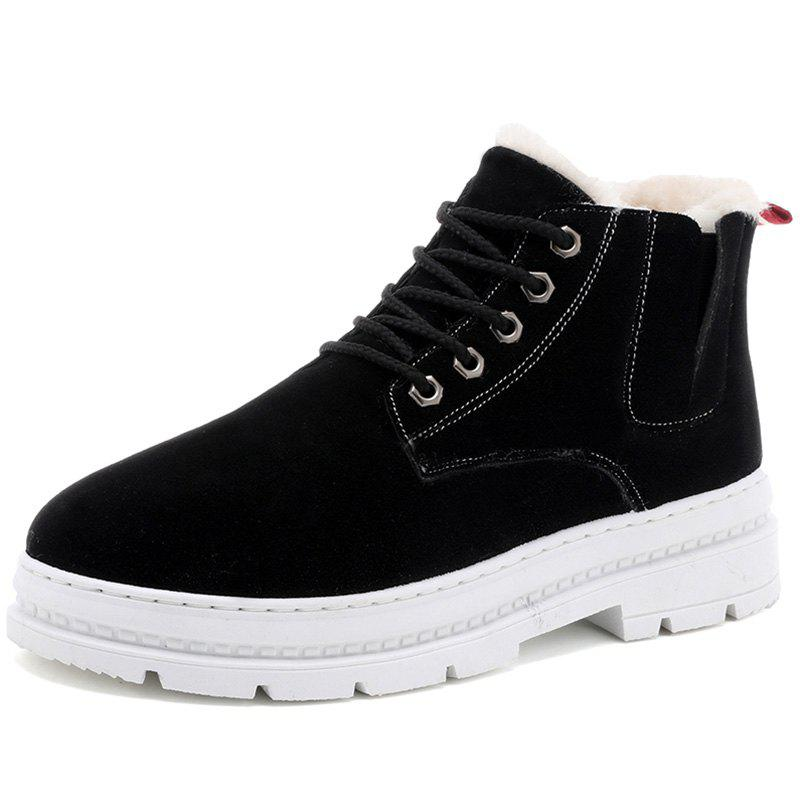 Online H666 Autumn Winter New Cotton Boots Plus Men's Boots