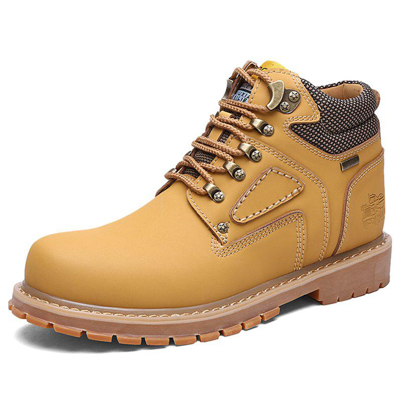 Buy Men Stylish Outdoor All-match High-top Boots