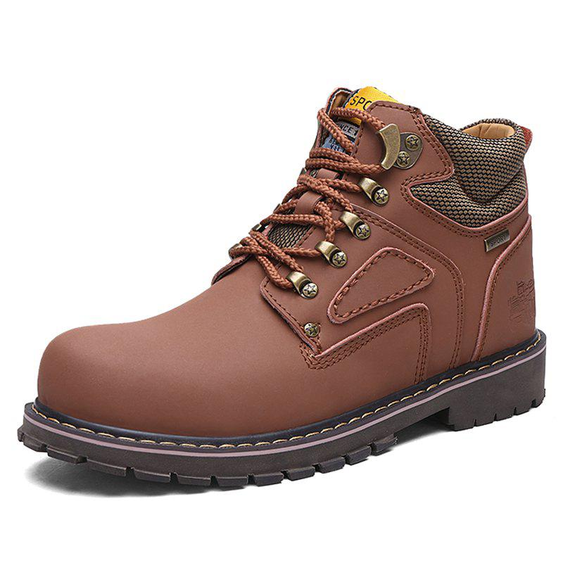 Trendy Men Stylish Outdoor All-match High-top Boots