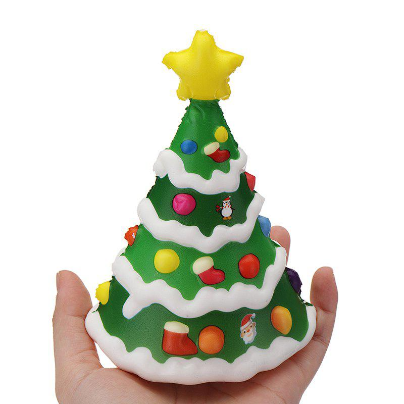 Best Soft Slow Rising with Packaging Collection Gift Christmas Tree Squishy Toy