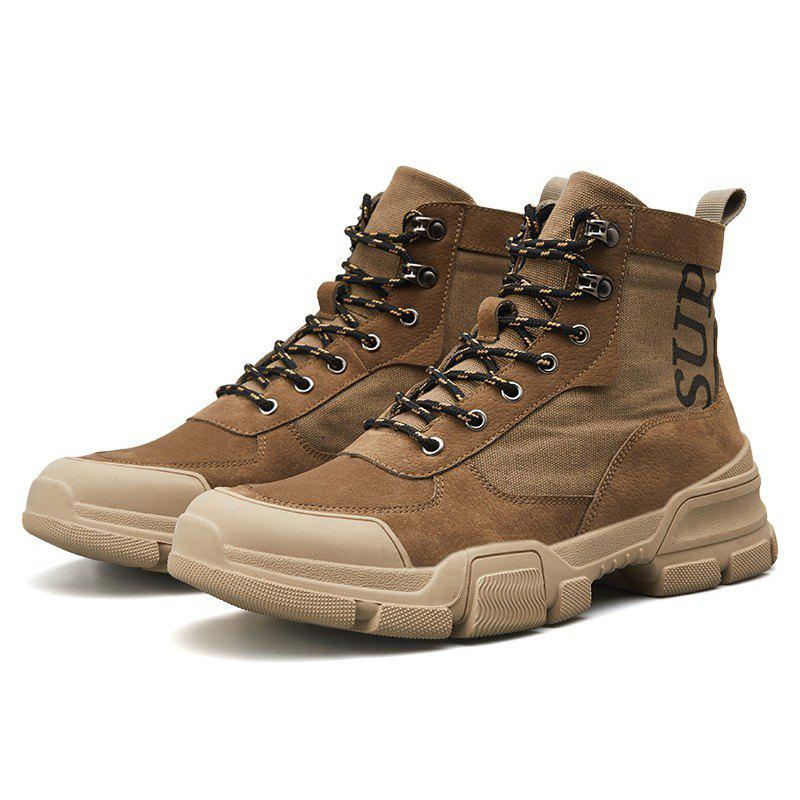 Sale High-top Fashion Boots for Men