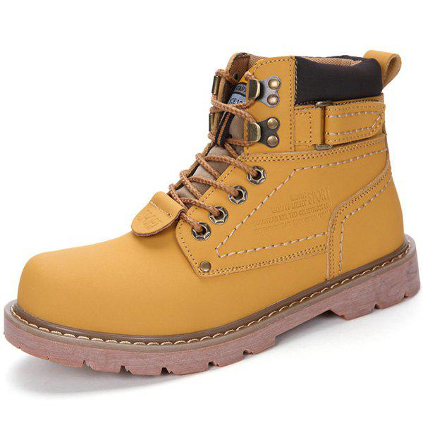 Outfits High-top Outdoor Work Men Boots