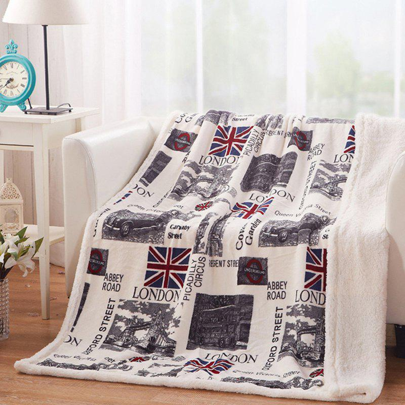 New Winter Thick Double Office Flannel Blanket