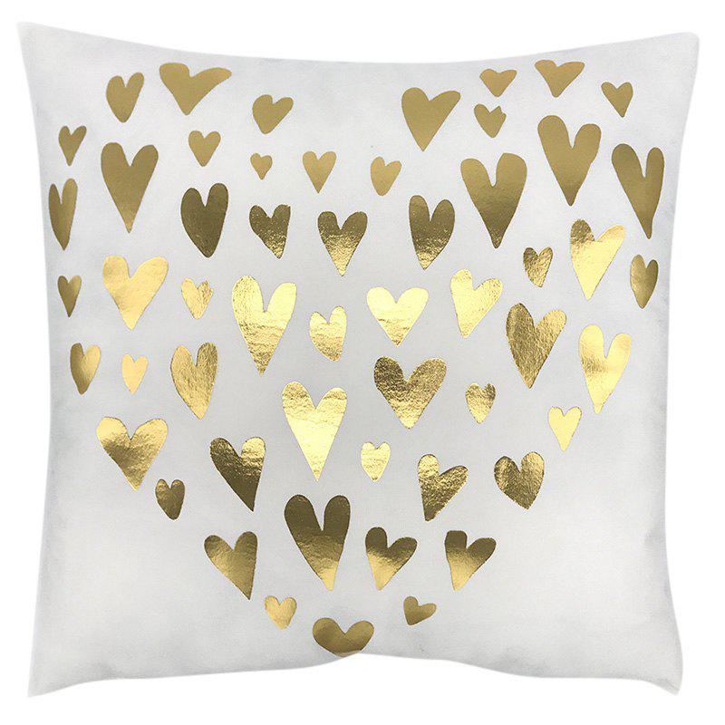 Sale Bronzing Series Super Soft Short Plush Pillowcase Cushion Cover