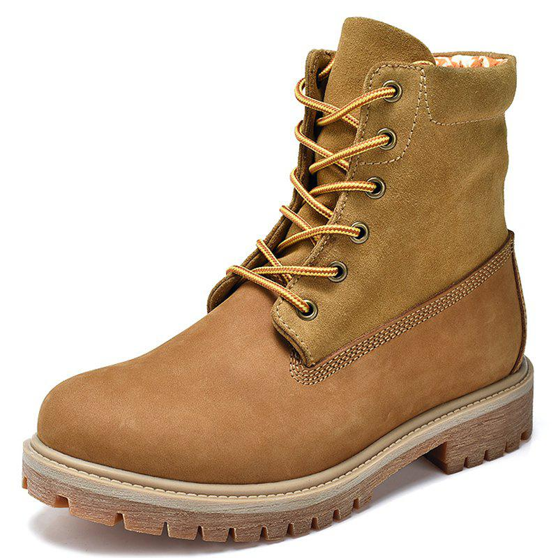 Shop High-top Outdoor Suede Boots Shoes for Men