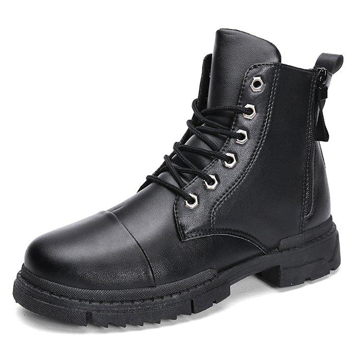 Trendy Men Stylish Warmth Wear-resistant High-top Boots