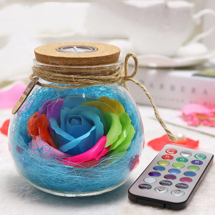 Hot Creative Products Practical Eternal Flowers Soap Roses Wishing Bottles for Birthday Valentine Day Gifts
