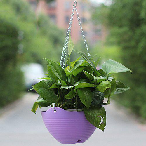 Affordable Resin Hanging Balcony Flowerpot