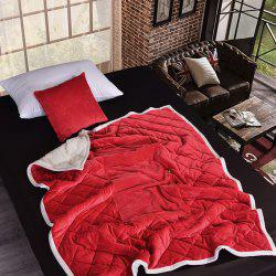 Double Thickening Crystal Velvet Cashmere Super Soft Home Office Blanket -