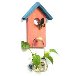 Creative Decoration Hydroponic Plant Bedroom Restaurant Wall Hanging Flower Pot -