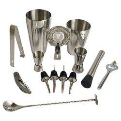 Stainless Steel Cocktail Set 13pcs -