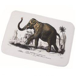 Elephant Printed Non-slip Bathroom Floor Mat -