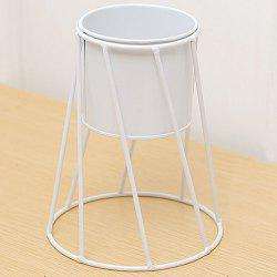 Thread Iron Art Plant Pot with Holder -