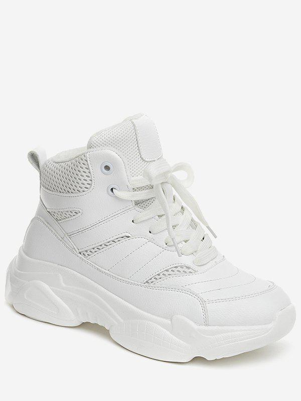 Affordable High Top Breathable Platform Sneakers