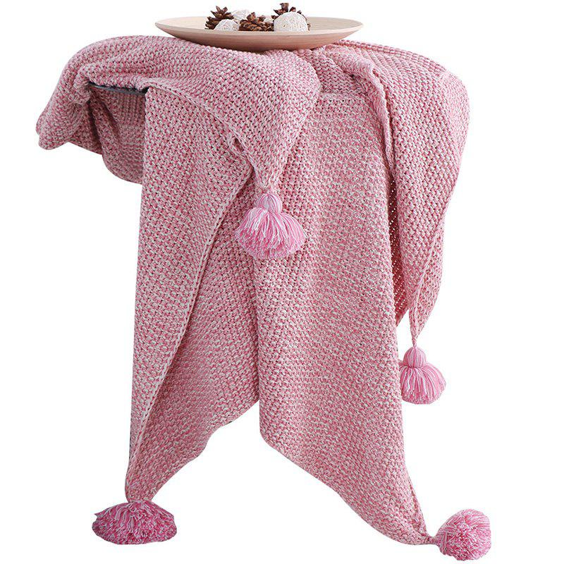 Affordable Home Cute Warm Knitted Blanket