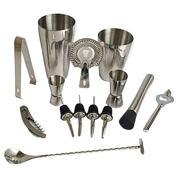 Sale Stainless Steel Cocktail Set 13pcs