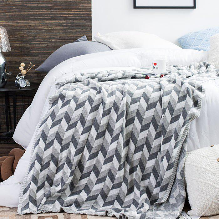 Outfit Cotton Knitted Warm Blanket